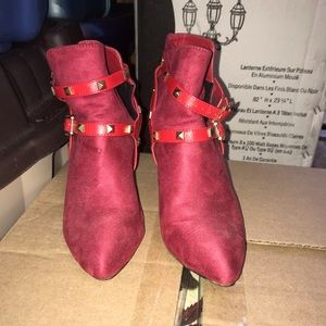 Shoes - Red booties